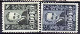 Österreich 1934 Mi 589-590 * [170819XXVII] - Nuevos