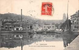 HONFLEUR - Vue Prise Sur Le Quai Saint Léonard - La Scierie - Honfleur
