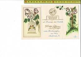 51850 - GELUKWENS TELEGRAM - PROVEN - HARTELIJK GEFELICITEERD MET UW HUWELIJK - Stamped Stationery