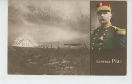"""GUERRE 1914-18 - Jolie Carte Fantaisie Avec Portrait Du Général PAU """"Vers La Victoire 1914 """" - Patriottisch"""