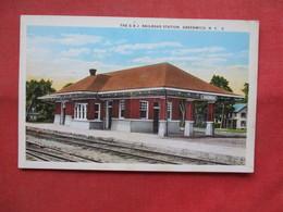 The G & J Railroad Station  Greenwich New York >   >  Ref    3557 - NY - New York