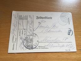 FELDPOST 1. WK KGL. BAYR. MG TRUPP  88  1916 - Allemagne