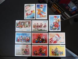 PLAYMOBIL Christmas Time Lot De 11 Cartes Postales - Jeux Et Jouets