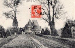 Gennes - Sur - Seiche (35) - Le Château De La Motte. - France