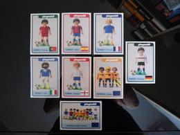 PLAYMOBIL 2016 European Football Championship Lot De 8 Cartes Postales - Spielzeug & Spiele
