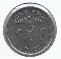 ALBERT I * 1 Frank 1922 Vlaams * Nr 5549 - 07. 1 Franc