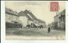 70 - Haute Saone - Ronchamp - Grande Rue - Commerces - Hotel De La Pomme D'Or -   - Animée - - France