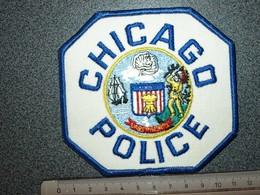 ECUSSON TISSUS   POLICE   US     CHICAGO - Scudetti In Tela