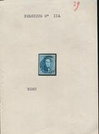 BELGIUM COB 11 A NICE STAMP USED - 1858-1862 Medallions (9/12)