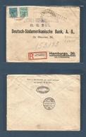 Brazil - XX. 1930 (22 Oct) R. Grande Sul - Germany, Hamburg (21 Nov) Revolutionary Censorship. - Brasilien