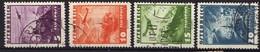 Österreich 1935 Mi 598-601, Gestempelt, Flugpost / Air Mail [170819XXVII] - 1918-1945 1ra República