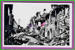 CPSM 61 Orne ARGENTAN - Rue Du Beigle Vue De La Rue Des Moulins  - En Ruines Après Les Bombardements De 1944 - Argentan