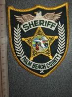 ECUSSON TISSUS   POLICE   US  PALM  BEACH - Scudetti In Tela