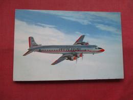 American Airlines Mercury  Operated DC 7 Ref    3557 - 1946-....: Modern Era