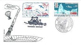 Cachet Commémoratif Exposition De Philatélie Polaire - Toulouse - 22-23 Octobre 1977 - Events & Commemorations