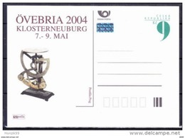 Entier Postal Tchèque Neuf 2004 OVEBRIA Pèse Lettres - Entiers Postaux