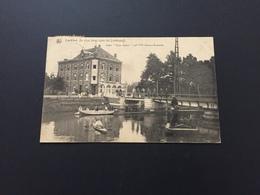 Lanklaer - Hotel Beau Sejour - Postzegel - Timbre - Olympiade 1920 - Antwerpen - Dilsen-Stokkem