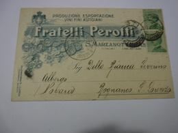 S. MARZANOTTO D'ASTI  -- ASTI  ---   VINO  -UVA  -- ACCESSORI--- FRATELLI PEROTTI  -- PRODUZIONE VINI - Weinberge