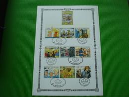 Maxi-kaart**20ste Verjaardag Van De Eerste Strippostzegels - Philabédés (comics)