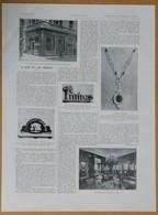 1928 Le Bijou Et L'art Moderne : Maison Bourdier Joaillier Rue De La Paix Paris (Bijoux) - Flozor Lesquendieu -Publicité - Publicités