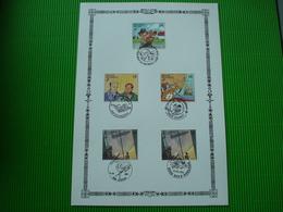 Maxi-kaart**stripverhalenuit Boekje**met Verschillende Afstempelingen - Philabédés