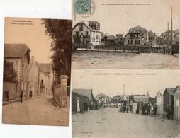 BERNIERES SUR MER  ( 14 ) - Lot De 16 Cpa Et 8 Cpsm - Other Municipalities