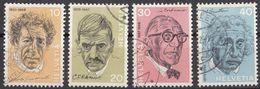 HELVETIA - SUISSE - SVIZZERA - 1972 - Lotto Di 4 Valori Usati: Yvert 909/912 - Usati