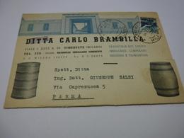 VIMERCATE  -- MILANO   ---   VINO  -UVA  -- ACCESSORI---   DITTA CARLO BRAMBILLA -- BOTTI  E BARILI - Weinberge
