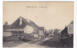 Côte-d'Or - Braux - La Grande Rue - France