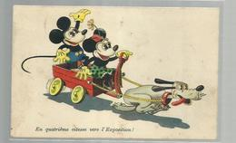 """-* MICKY MOUSE  *--""""""""En Quatrième  Vitesse  Vers L'Exposition !  !!! - Disneyworld"""