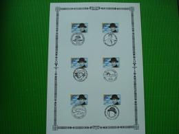 Maxikaart**René Magritte Met Verschillende Afstempelingen - Souvenir Cards