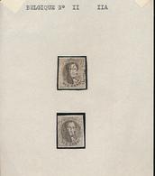 BELGIUM COB 11/11A NICE STAMPS - 1858-1862 Médaillons (9/12)