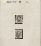 BELGIUM COB 11/11A NICE STAMPS - 1858-1862 Medallions (9/12)