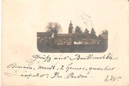 149) BAILLONVILLE - Cpa Circulée 1898!! - Somme-Leuze