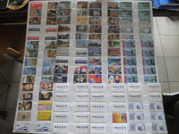 Collection Of 644 Phonecards From Russia - Russie