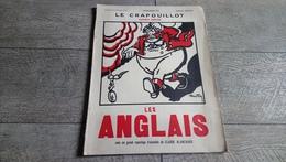 Les Anglais Revue  Le Crapouillot Numéro Spécial Nov 1931 Satirique Caricature Reportage De Claude Blanchard - Histoire