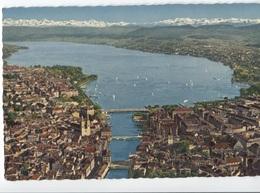 Zurich Mit Zurichsee Und Alppen - Z 7169 - Panorama - ZH Zurich
