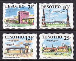LESOTHO - 1969 MASERU ANNIVERSARY SET (4V) FINE MOUNTED MINT MM * SG 167-170 - Lesotho (1966-...)