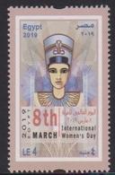 EGYPT, 2019, MNH, INTERNATIONAL WOMEN'S DAY,  1v - Other