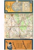 80 - Pneu Michelin - Rodez - Nimes - Carte Au 2000000 ème - Services De Tourisme Michelin - 1951 - Carte Stradali