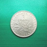 1 Franc Münze Aus Frankreich Von 1960 (sehr Schön) II - H. 1 Franc