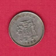 JAMAICA   5 CENTS 1980 (KM # 46) #5359 - Jamaique