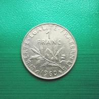 1 Franc Münze Aus Frankreich Von 1960 (sehr Schön) III - H. 1 Franc