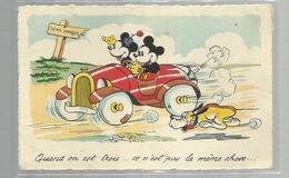 """-* MICKY MOUSE  *--""""""""Quand On Est Trois . . . Ce N'est Pas La Même Chose  !!! - - Disneyworld"""
