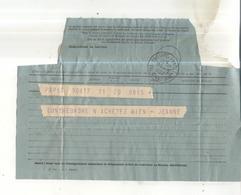 Télégramme De 1952 Cachet Val D'Andorra - Marcophilie (Lettres)