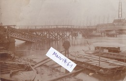 Foto Schoonaarde Schoonaerde Belgien Flandern  Brücke Baustelle  1.Weltkrieg Ww1 14-18 German Soldier - Sonstige