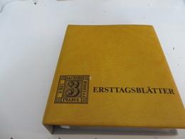 GROßBRITANNIEN  /.   Posten  F D C  -  BELEGE  Im  BINDER - Briefmarken