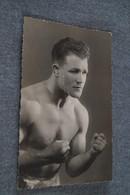 Grande Photo Ancienne D'un Boxeur ,1932,Boxe,région De Namur,Etienne Champion De Belgique,originale,13,5 Sur 8,5 Cm. - Autres