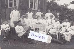 Foto Brettspiel Mensch-Ärger-Dich-Nicht Merseburg Lazarett 1.Weltkrieg Ww1 14-18 German Soldier - Ansichtskarten