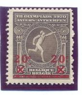 Nr. 186-V **punt Onder Linker C Lager - Errors (Catalogue COB)